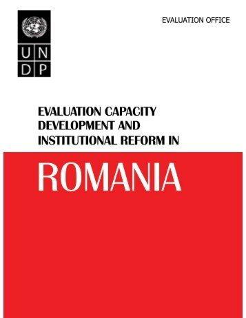 evaluation capacity development and - United Nations Development ...