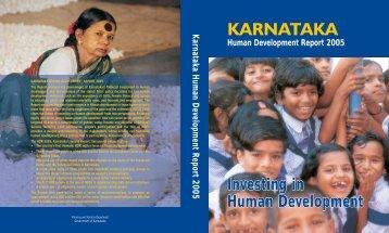 Human Development Report 2005 : Karnataka - United Nations ...