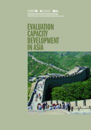 EVALUATION CAPACITY DEVELOPMENT IN ASIA - United Nations ...