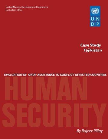 Tajikistan - United Nations Development Programme