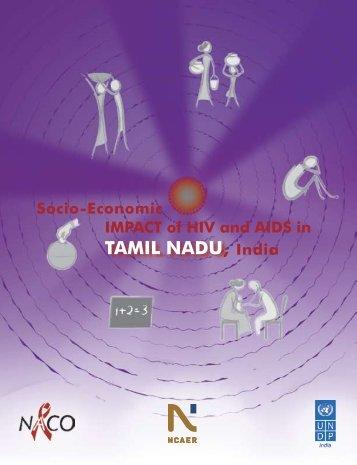 Socio-Economic Impact of HIV and AIDS in Tamil nadu