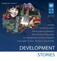 DEVELOPMENT - United Nations Development Programme
