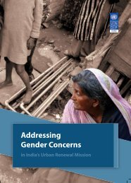 Addressing Gender Concerns in India's Urban Renewal Mission