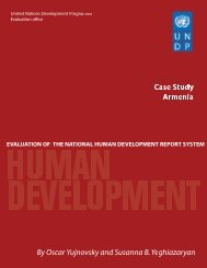Armenia - United Nations Development Programme