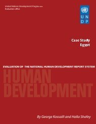 Egypt - United Nations Development Programme