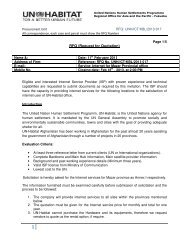 RFQ (Request for Quotation) - UNDP Afghanistan