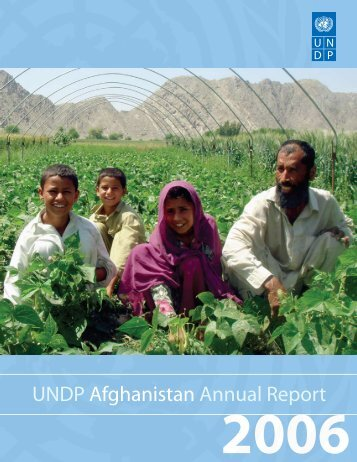 UNDP Afghanistan Annual Report 2006