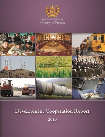 Development Cooperation Report 2011 - Ministry of Finance