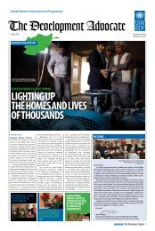 The Development Advocate - UNDP Afghanistan