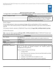RFQ/UNDP/AFG/ELECT/RFQ/538/2010 Supply, Delivery and ...