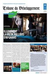 illuMiNENT la ViE DE MilliERs D'aFGhaNs - UNDP Afghanistan