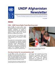 English - UNDP Afghanistan