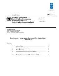 CPD - UNDP Afghanistan