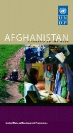 a country on the move 2005 - UNDP Afghanistan
