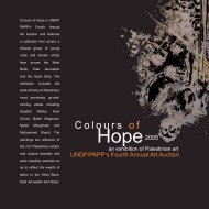 Colours of Hope - UNDP