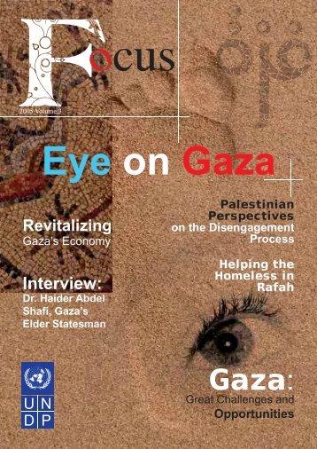 Gaza - UNDP