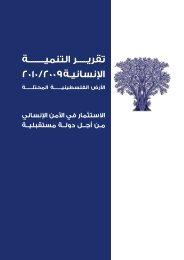 الفصل الثالث - UNDP