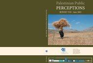 Palestinian Public Perceptions Report -June 2005 - UNDP