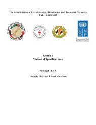Annex 1 Technical Specifications - UNDP