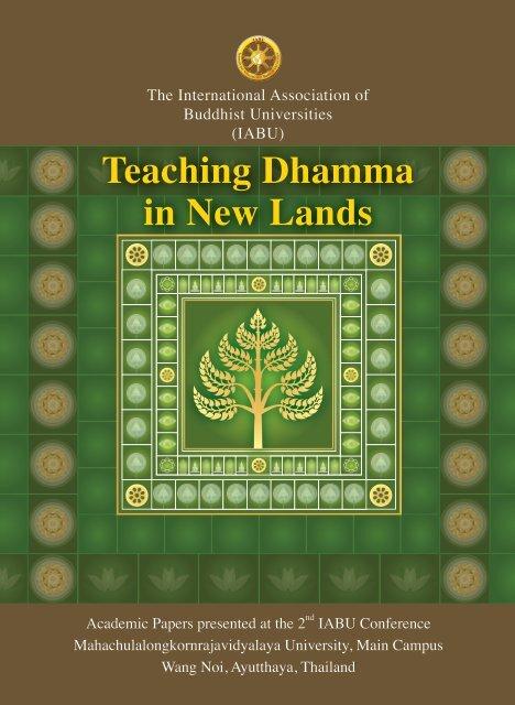 03 Teaching Panel Prefaceindd United Nations Day Of Vesak