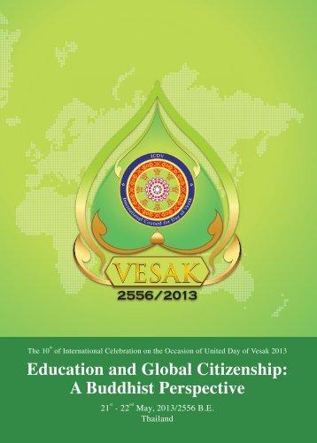 Message - United Nations Day of Vesak 2013
