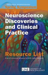 Neuroscience Discoveries and Clinical Practice Resource List