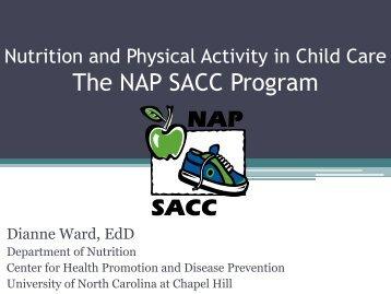 The NAP SACC - University of New England