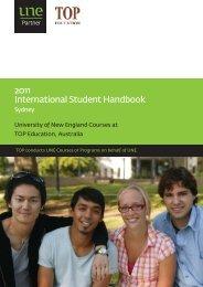 2011 International Student Handbook - University of New England