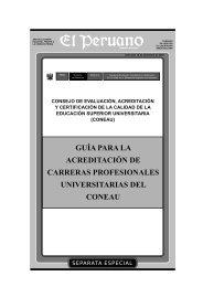 guía para la acreditación de carreras profesionales universitarias
