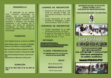 desarrollo - Universidad Nacional de Educación Enrique Guzmán y ...