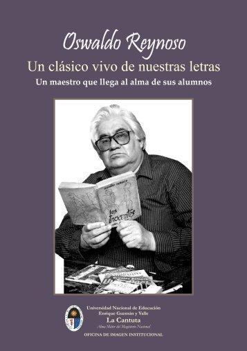 Oswaldo Reynoso - Universidad Nacional de Educación Enrique ...
