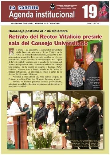 Agenda institucional - Universidad Nacional de Educación Enrique ...