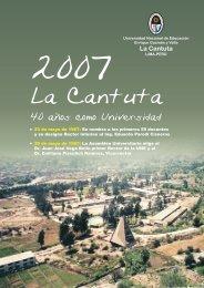 fasciculo_40 años.cdr - Universidad Nacional de Educación Enrique ...