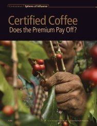 2007. Certified Coffee: Does the Premium Pay Off?