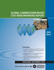 Global Lumber/Sawn Wood cost Benchmarking report.(pdf)