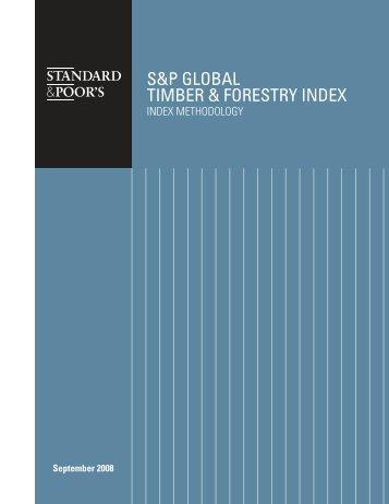 Index Methodology. Sept 2008. (pdf)