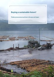 Buying a sustainable future? Timber procurement policies in ... - Fern