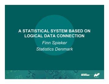 Finn Spieker Statistics Denmark - UNECE