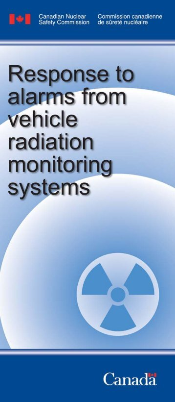Response to alarms from vehicle radiation monitoring ... - UNECE