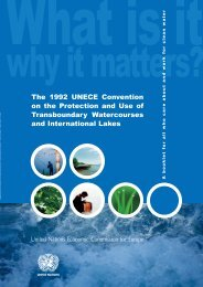 The 1992 UNECE Convention on the Protection and Use of ...