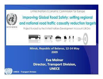 Eva Molnar, Director Transport Division, United Nations ... - UNECE