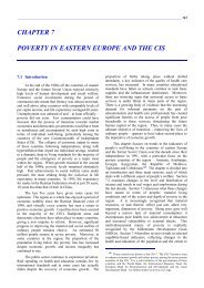 chapter 7 poverty in eastern europe and the cis - UNECE