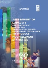 Assessment of capacity - UNECE