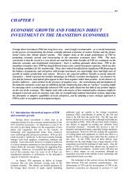 chapter 5 economic growth and foreign direct investment - UNECE