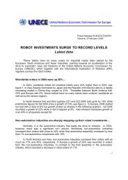 ROBOT INVESTMENTS SURGE TO RECORD LEVELS ... - UNECE