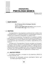 PSICOLOGÍA BÁSICA - UNED