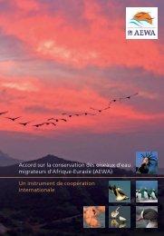 AEWA General Leaflet – französisch