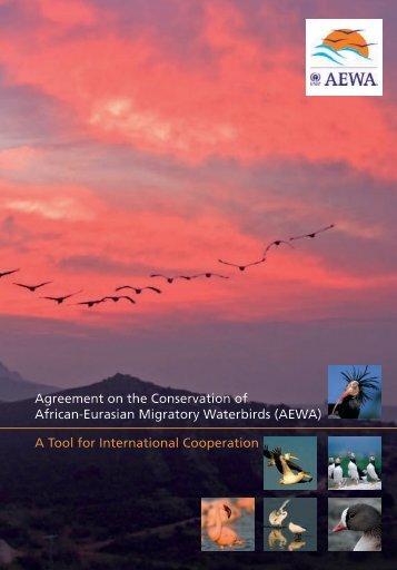 AEWA General Leaflet – englisch