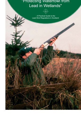 """""""Protecting Waterfowl from Lead in Wetlands"""" - A practical - AEWA"""