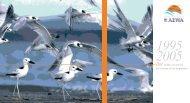 Dix années au service des oiseaux d´eau migrateurs - AEWA